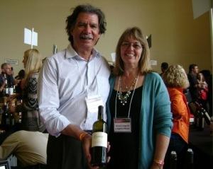 Winemaker Rick Longoria and his wife/business partner Diana Longoria. (Photo by Cynthia Bournellis)